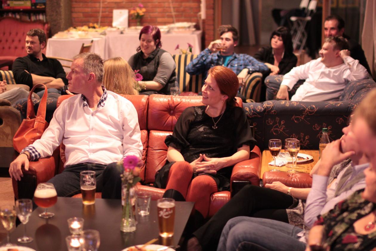 Etter foredraget på alumnikvelden til digital kultur 18. november 2011.
