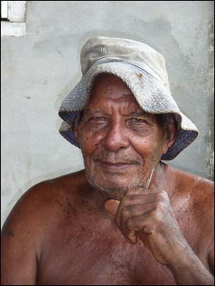 Erik Andersen (b. 1933) of Marovo Lagoon, New Georgia, Solomon Islands, son...