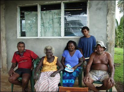 Erik Andersen of Marovo Lagoon, Solomon Islands, son of Julius Walter...