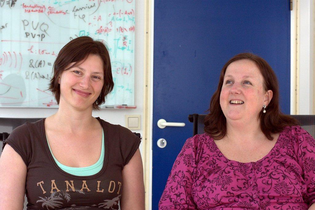 Siv Hovland Erstad (left) and Inger Nilsen, study advisors at Dept. of...