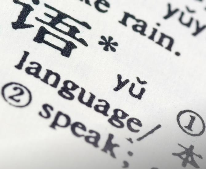Bachelorprogram i språkvitskap
