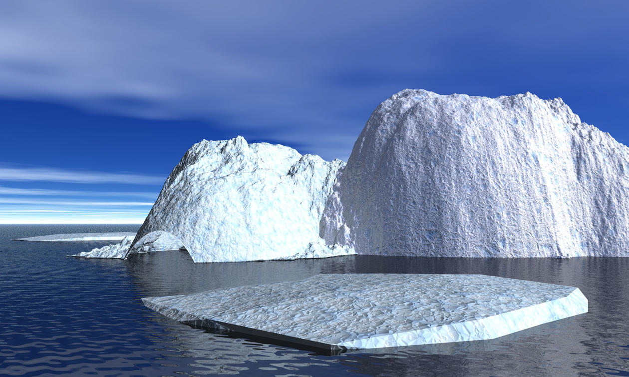 En tredjedel av den europeiske jordplaten ligger på havbunn i Nord-Atlanteren...