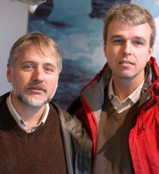 En kald vinter innebærer ikke en ny istid, mener Eystein Jansen og Helge Drange.