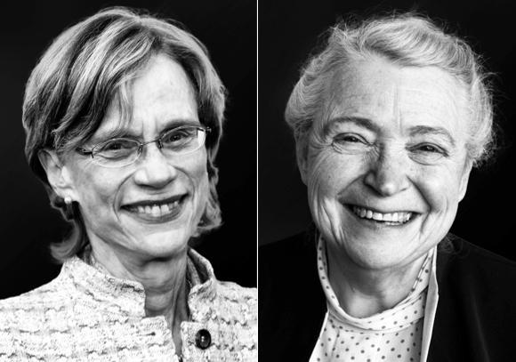Ann M. Graybiel og Mildred S. Dresselhaus, vinnerne av henholdsvis...