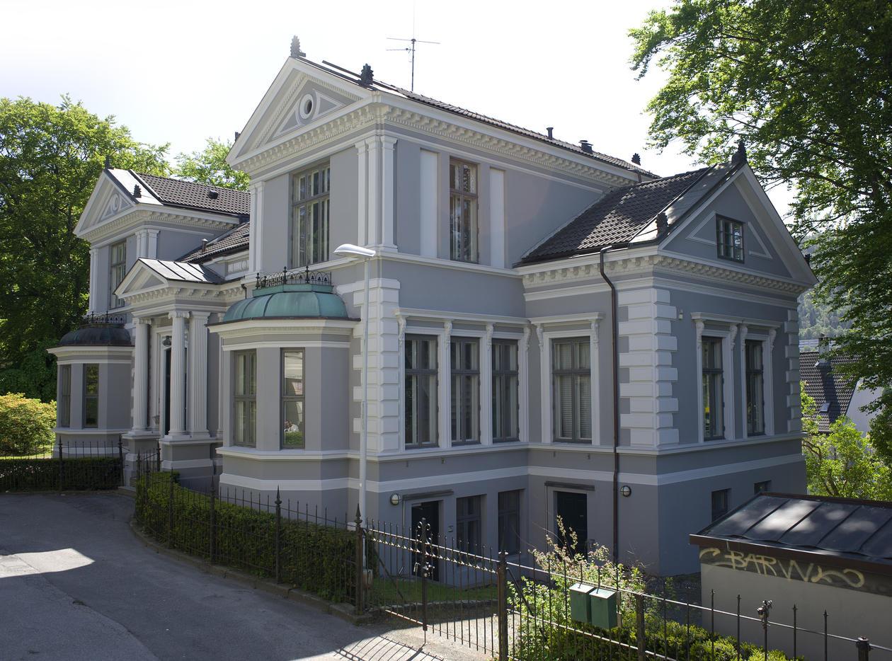 Villaveien 9, Knut Fægris husFoto: Irene HeggstadCopyright: UiB.