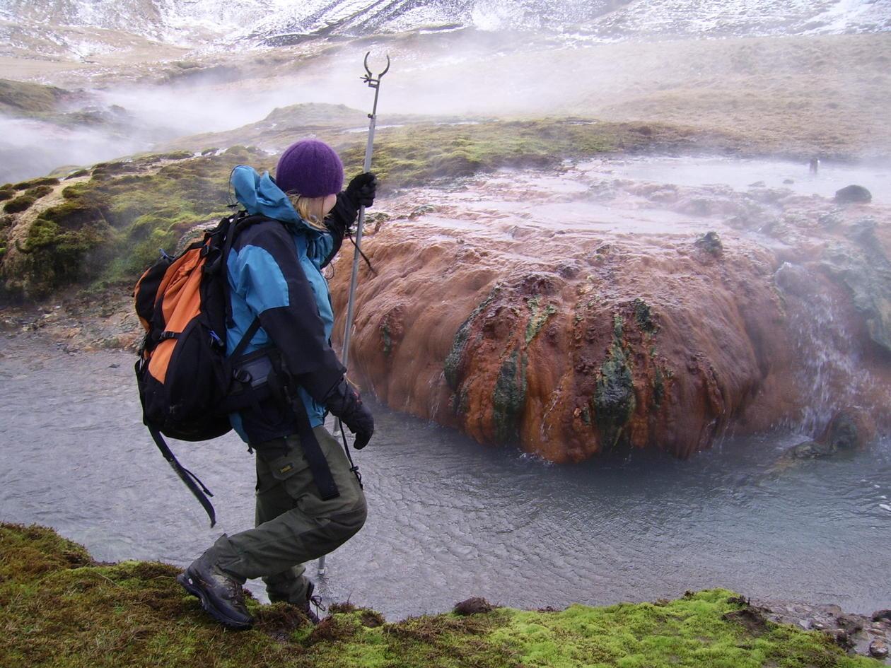 Field Work in Iceland