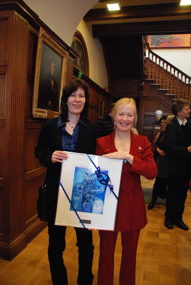 Louise Lindblom og Karin Pittman har begge vært emneansvarlige for BIO300.