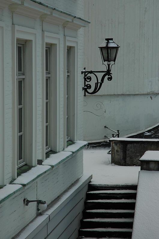 Vinter på Geofysisk institutt
