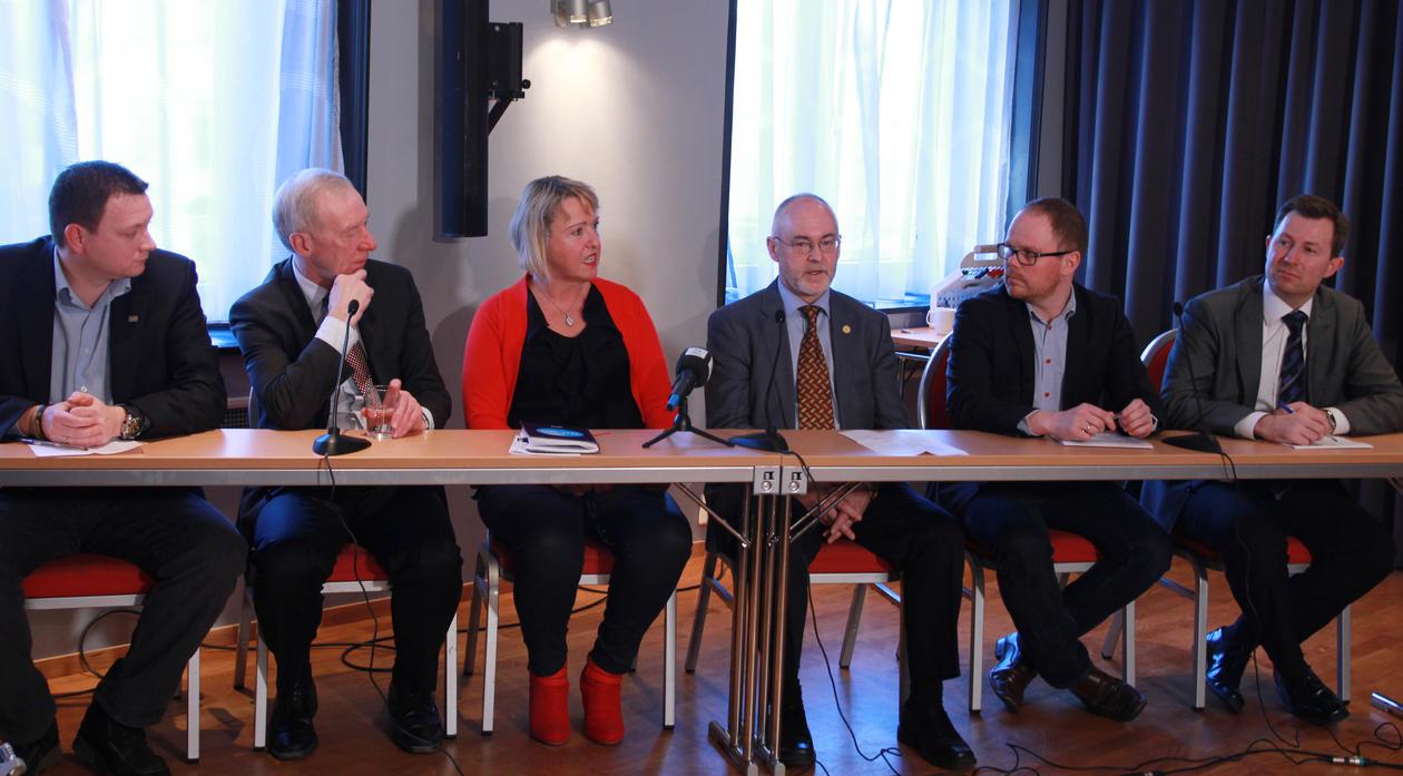 Sigmund Grønmo tror at mediehuset blir enestående, ikke bare i Norge, men...