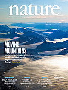 UiB-forskning preger forsiden av Nature.