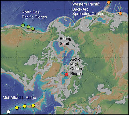 Lokefeltet ligger nord på den midtatlanterske rygg. Feltet ble oppdaget i...