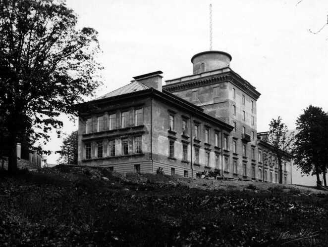 Geofysisk institutt, bygging 1928