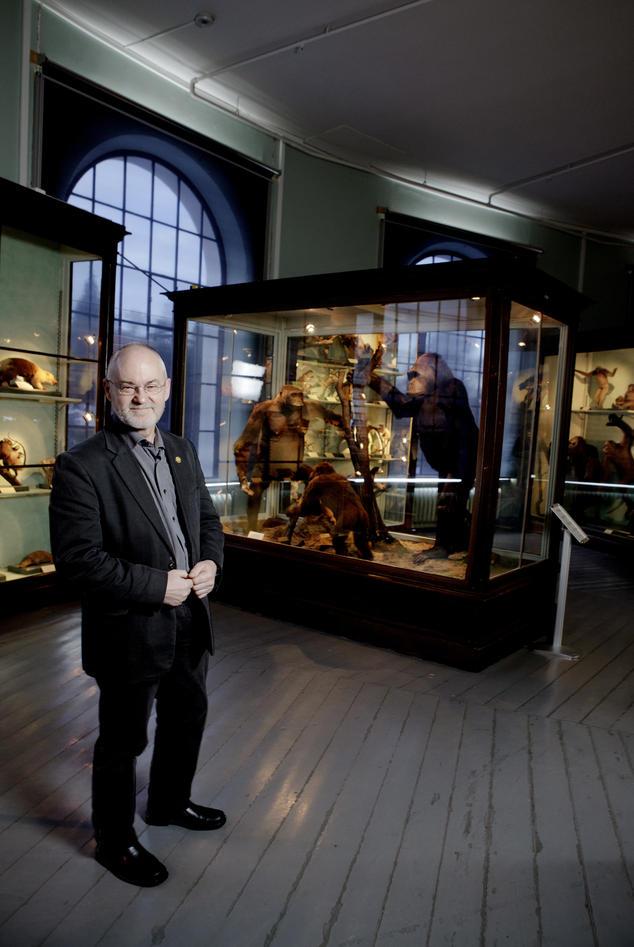 Rektor Sigmund Grønmo kjemper for en universitetsaula som vil være viktig for...
