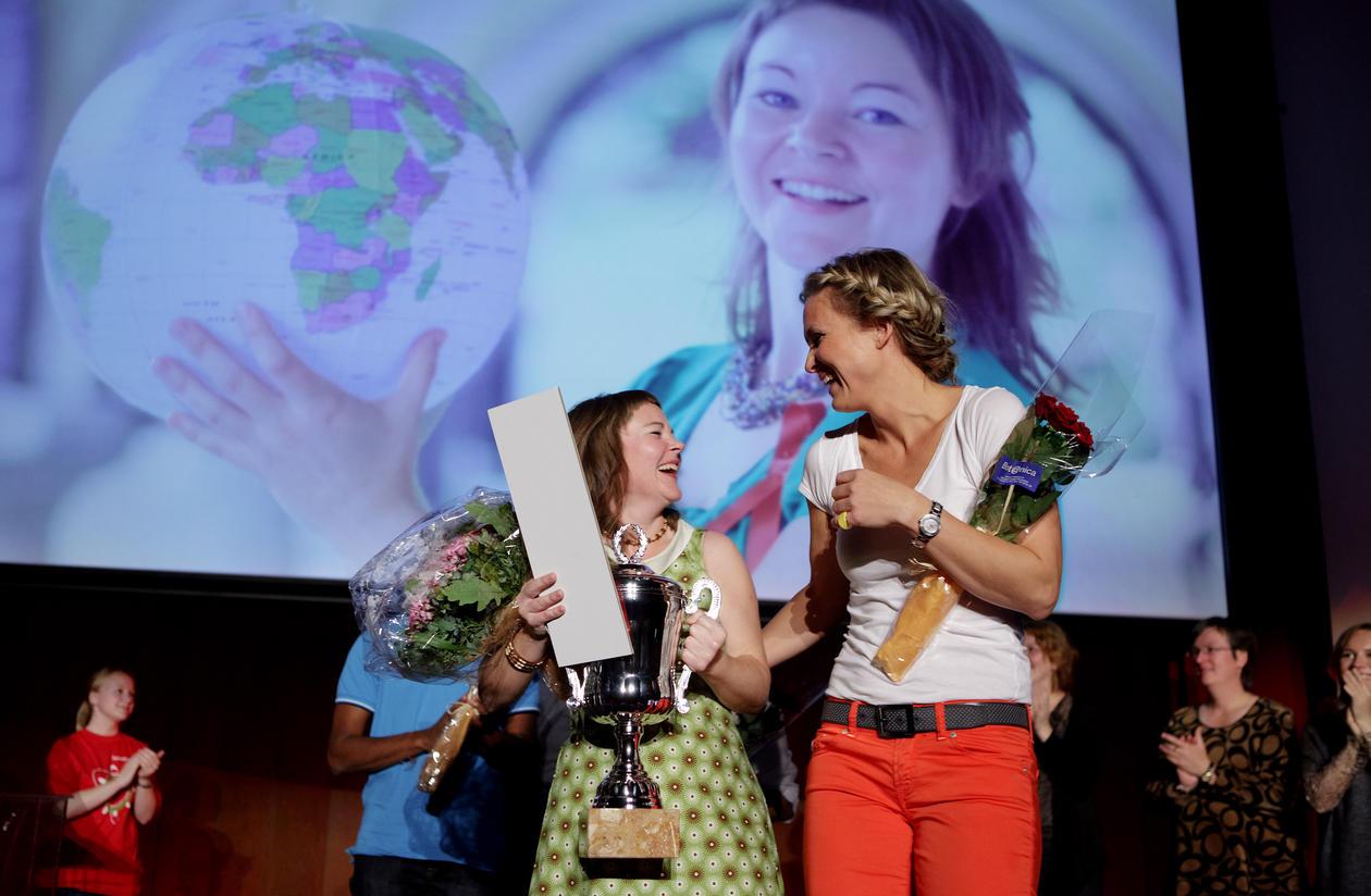 Forsker Grand Prix ble holdt på Grand Selskapslokaler i forbindelse med...