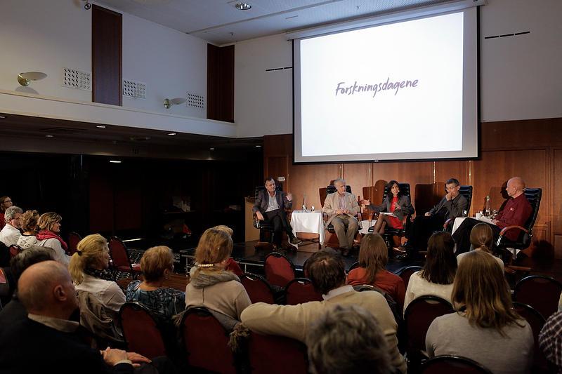 Nytt av året var blant annet paneldebatter på Hotel Norge, ledet av Siri Lill...