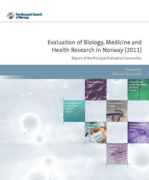 NFR-evalueringen presenteres i flere rapporter, fra hovedpanelet og fra hvert...