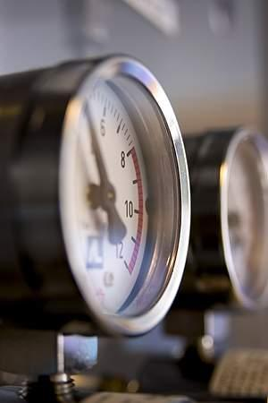 Gassregulator.
