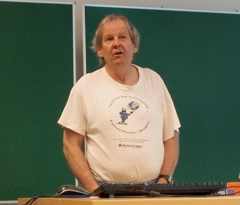 Professor Petter Bjørstad er ny instituttleder ved Institutt for informatikk.