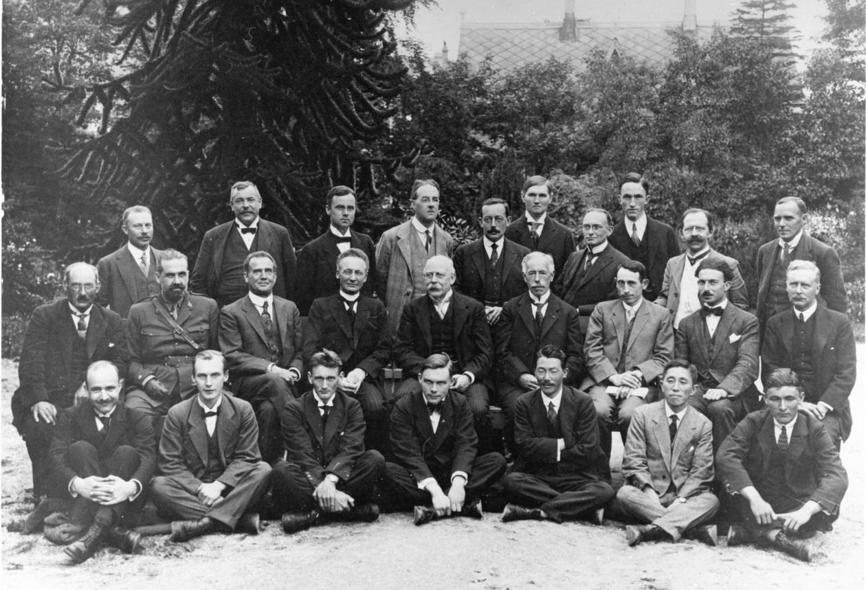 The International Aerological Commission. Bergen 1921.