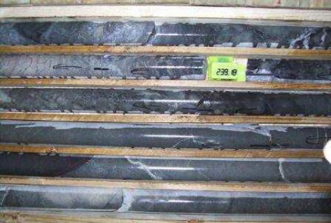 Archean pillow lavas in drill core from the Barberton Scientific Drilling...