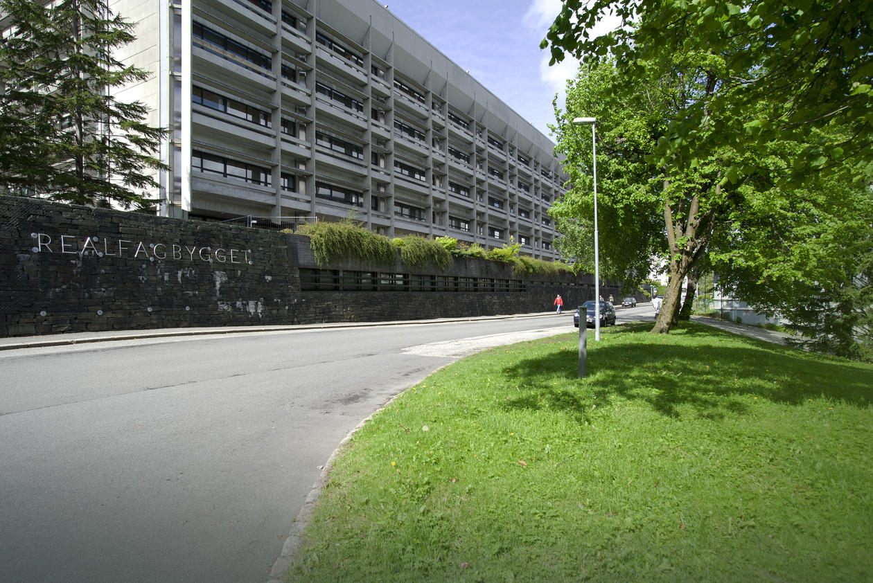 Realfagbygget, Allegaten 41. Foto: Irene Heggstad Copyright: UiB
