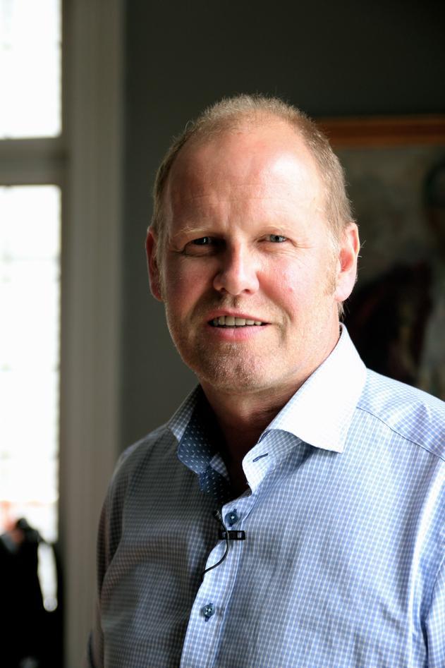 Professor Rolf Birger Pedersen, leder for Senter for geobiologi