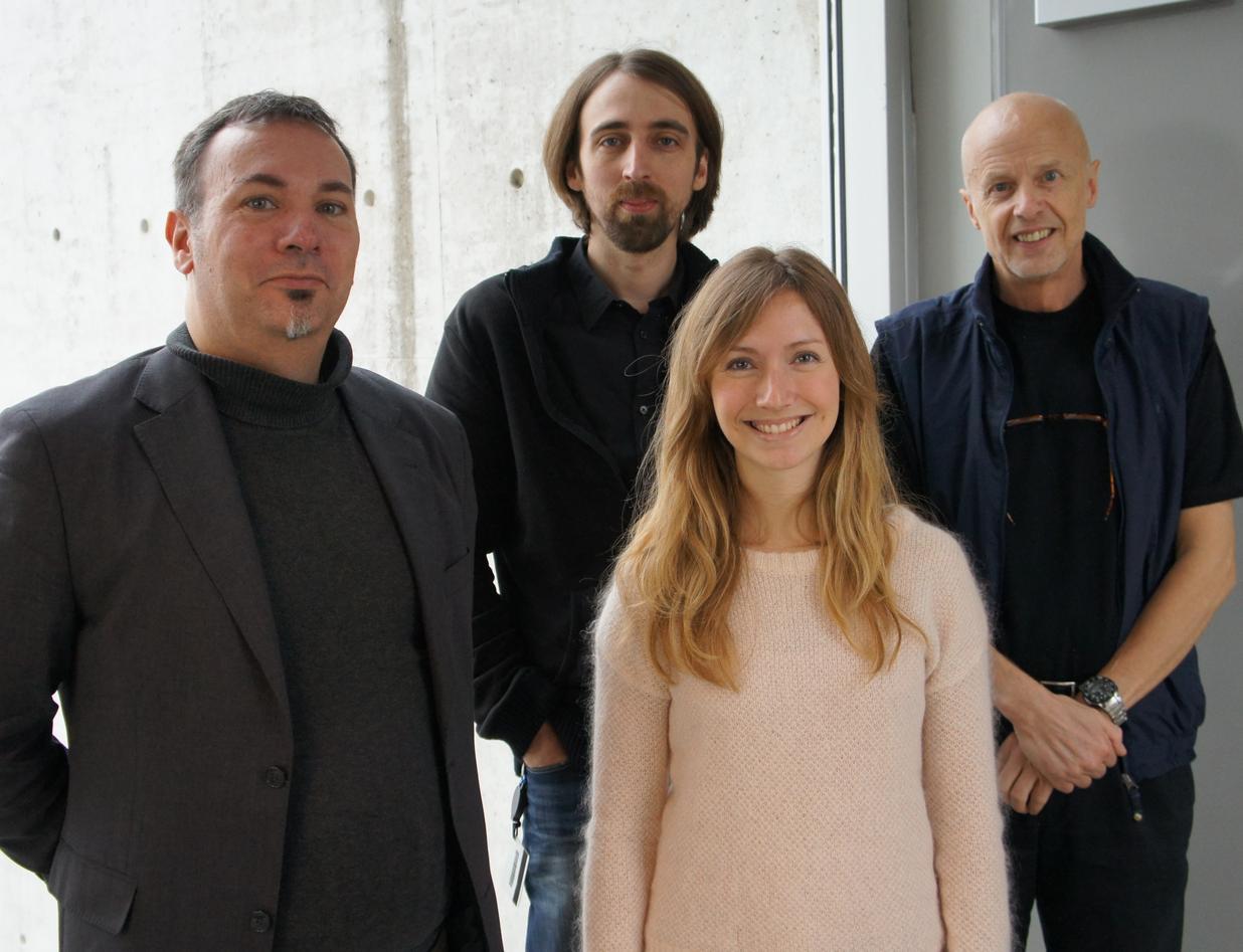 Liv E. Falkenberg (front), Karsten Specht (from left), René Westerhausen and...