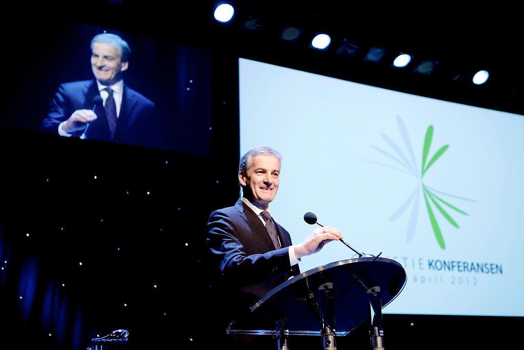 Utanriksminister Jonas Gahr Støre gjesta Christiekonferansen 2012.