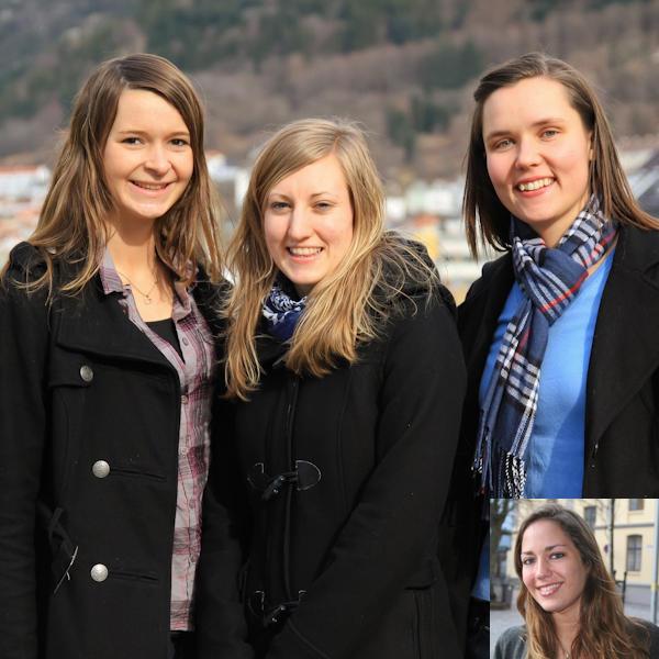 Fra venstre Marianne Røsvik, Ingrid Nese, Regine O. Sagstad og Åshild A....