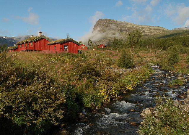 Summer farm at Sikkisdalen