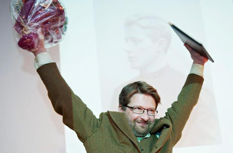 Jørn Øyrehagen Sunde ble svært glad for Meltzerprisen.