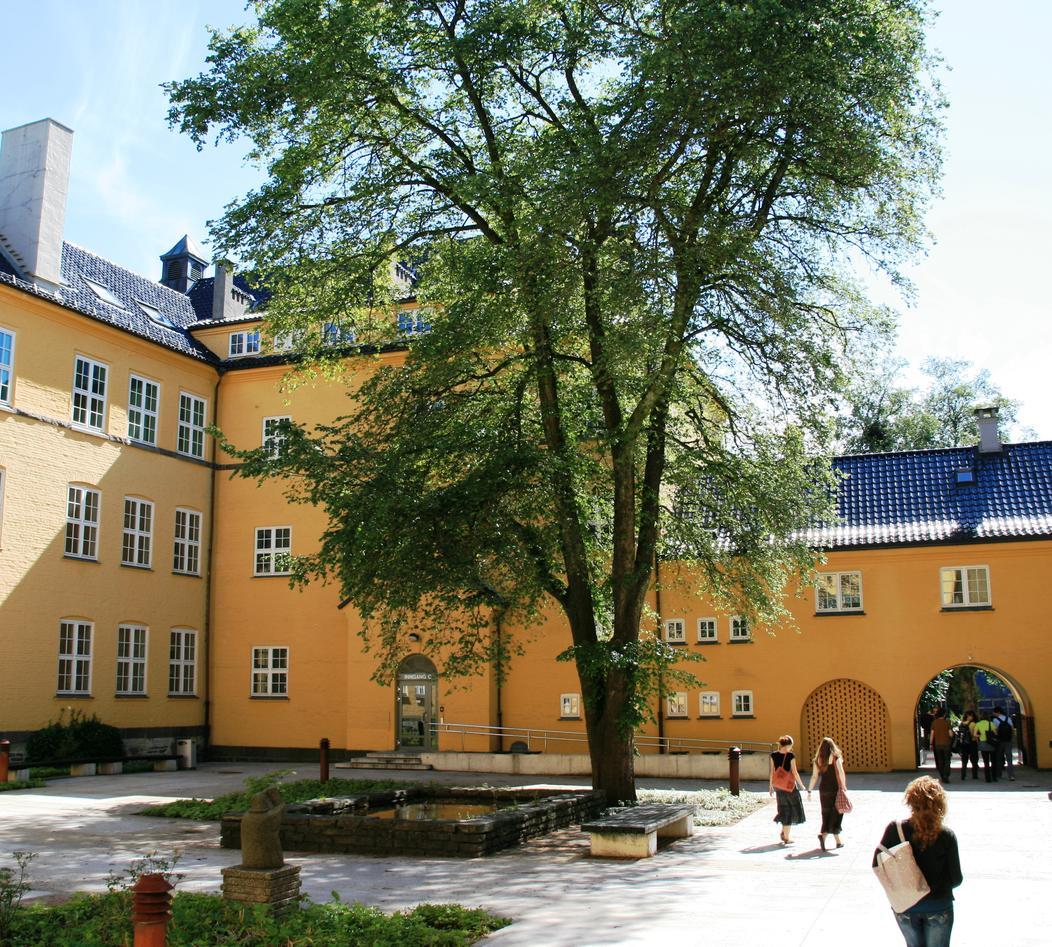 The Sydneshaugen School Building.