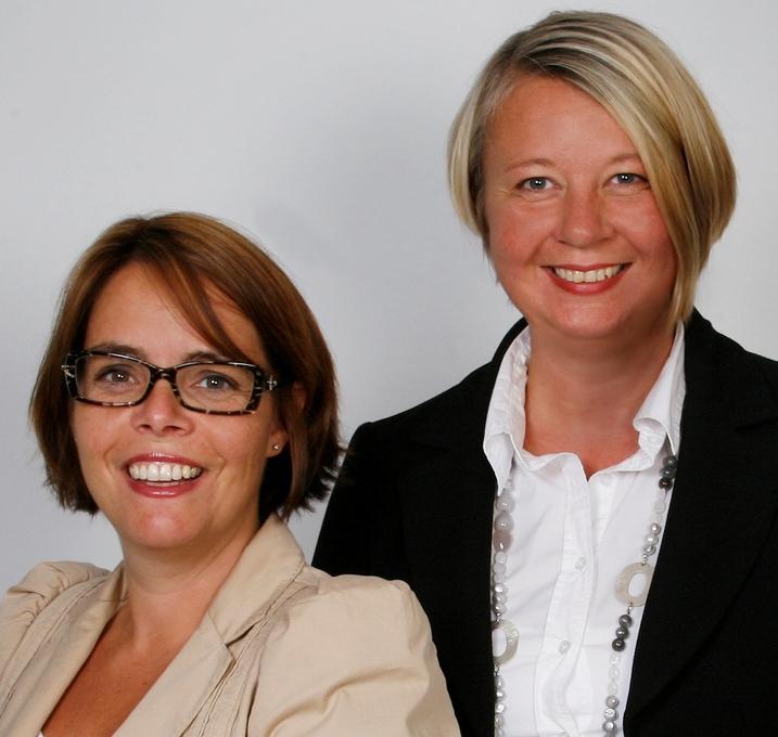 Fakultetsdirektør Nina Mevold og assisterende fakultetsdirektør Synnøve Myhre...