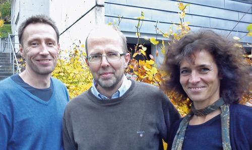 Stefan Johansson, Jan Haavik og Anne Halmøy.