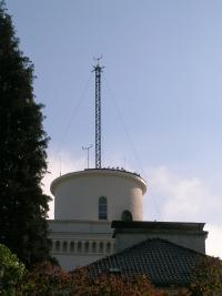 The location of the weather station at GFI