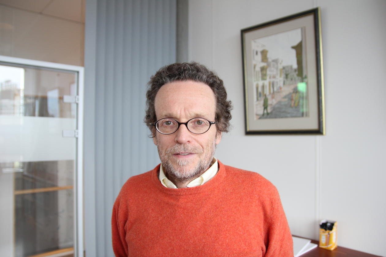 THE ANTI-POVERTY WARRIOR: Thomas Pogge opened BSRS 2013 with a speech about how the poverty numbers presented by the United Nations and other supranational institutions do not add up. Foto: Sverre Ole Drønen