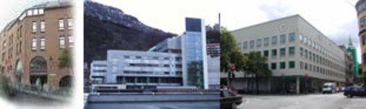 From Left: Vektertorget, the BB-Building, the Bjørn Christiansen Building
