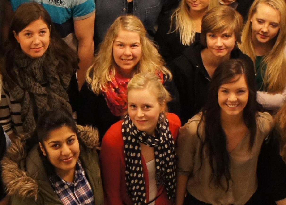 Nye psykologstudentar ved Universitetet i Bergen.