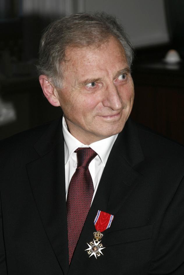 Jan Erik Varhaug, då han fekk tittelen Ridder 1. klasse av St.Olavs orden.