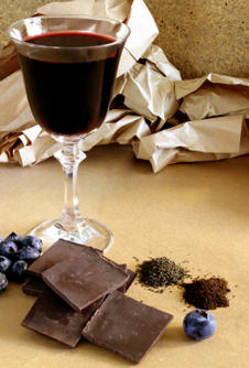 Chocolate, wine and tea improve brain performance