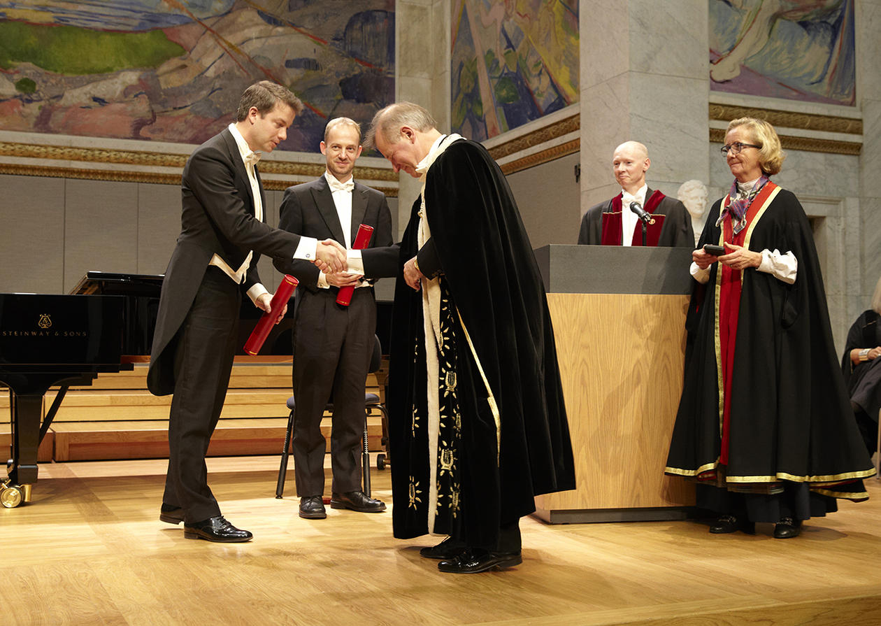 Yenan Bryceson receives Anders Jahres Prize