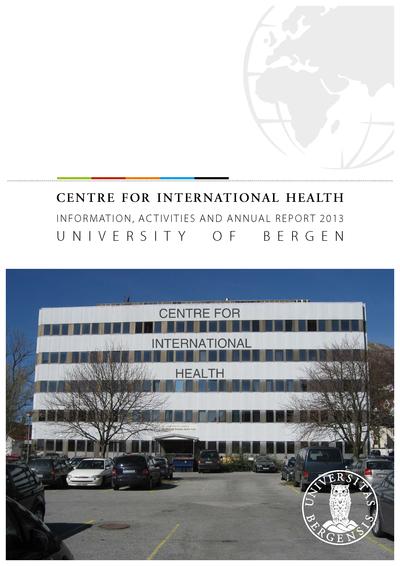 Cover - Annual Report CIH 2013