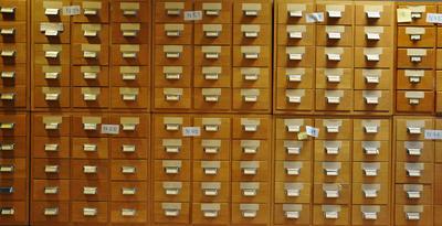 Arkivskap språksamlingene
