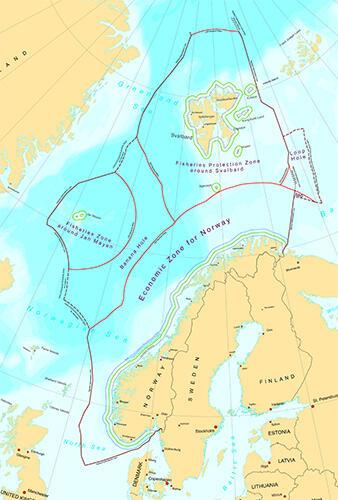 Norway's maritime boundaries
