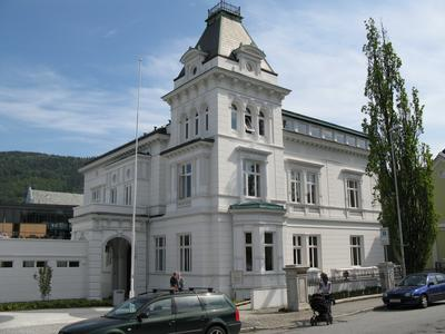 C. G. Sundts hus ved Muséplassen.