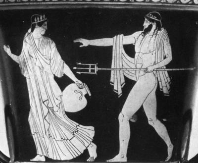 Poseidon og Amymone
