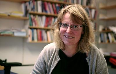 Professor Mette Andersson.