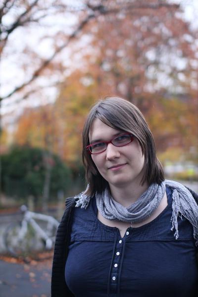 Anya Helene Bagge håper laboratoriet kan bidra til å rekruttere nye studenter...