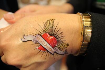 EAIE 2011 København tatovering på hånd