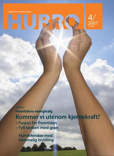 Forsiden til Hubro nr. 4, 2007